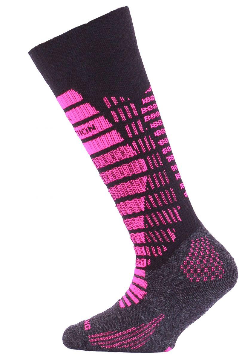 Lasting SJR 904 černá dětské ponožky