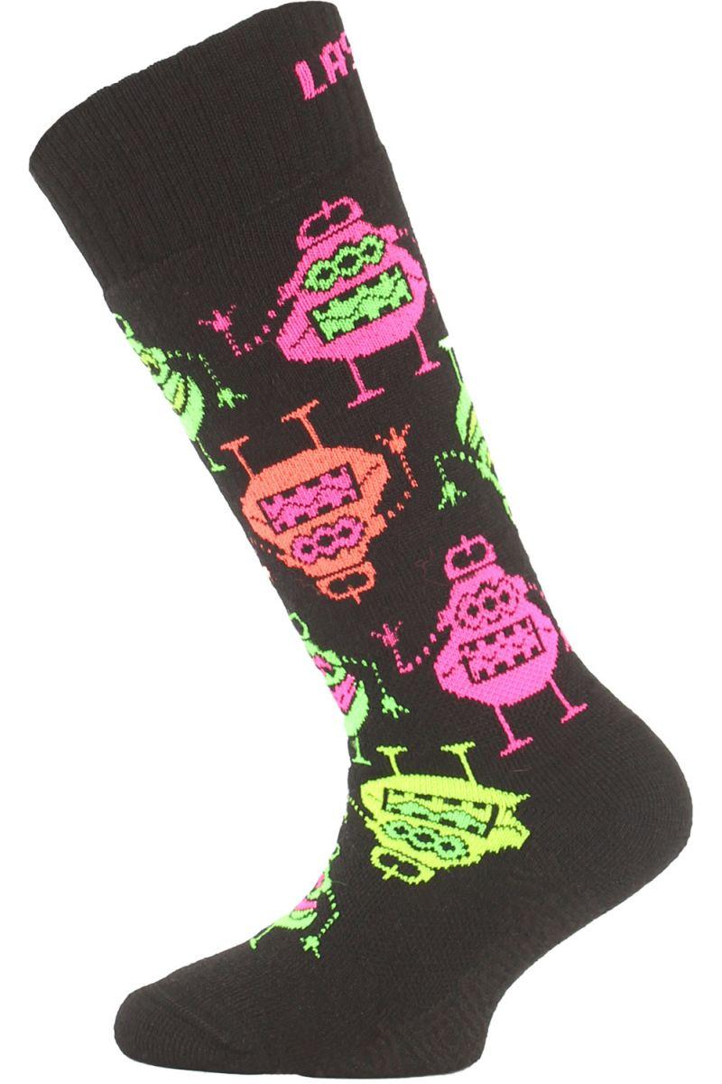 Lasting SJE 946 černá dětské ponožky