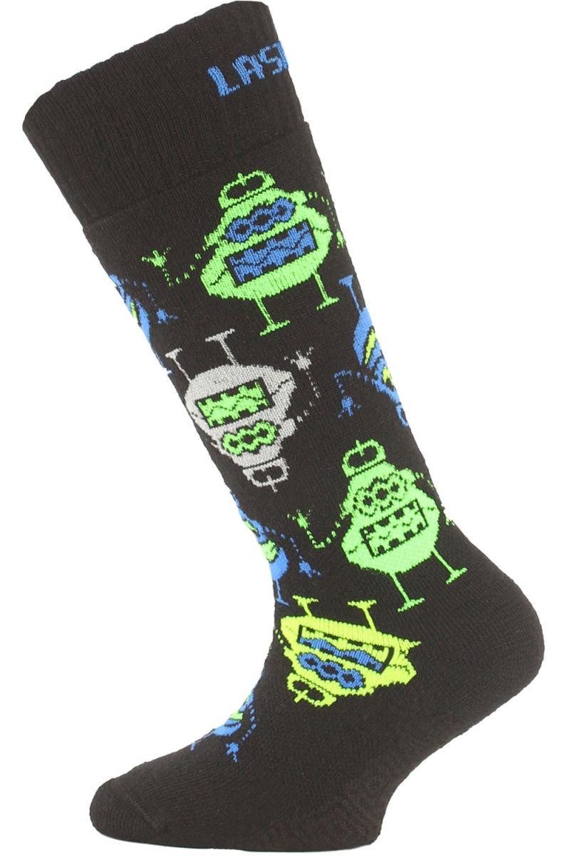 Lasting SJE 956 černá dětské ponožky