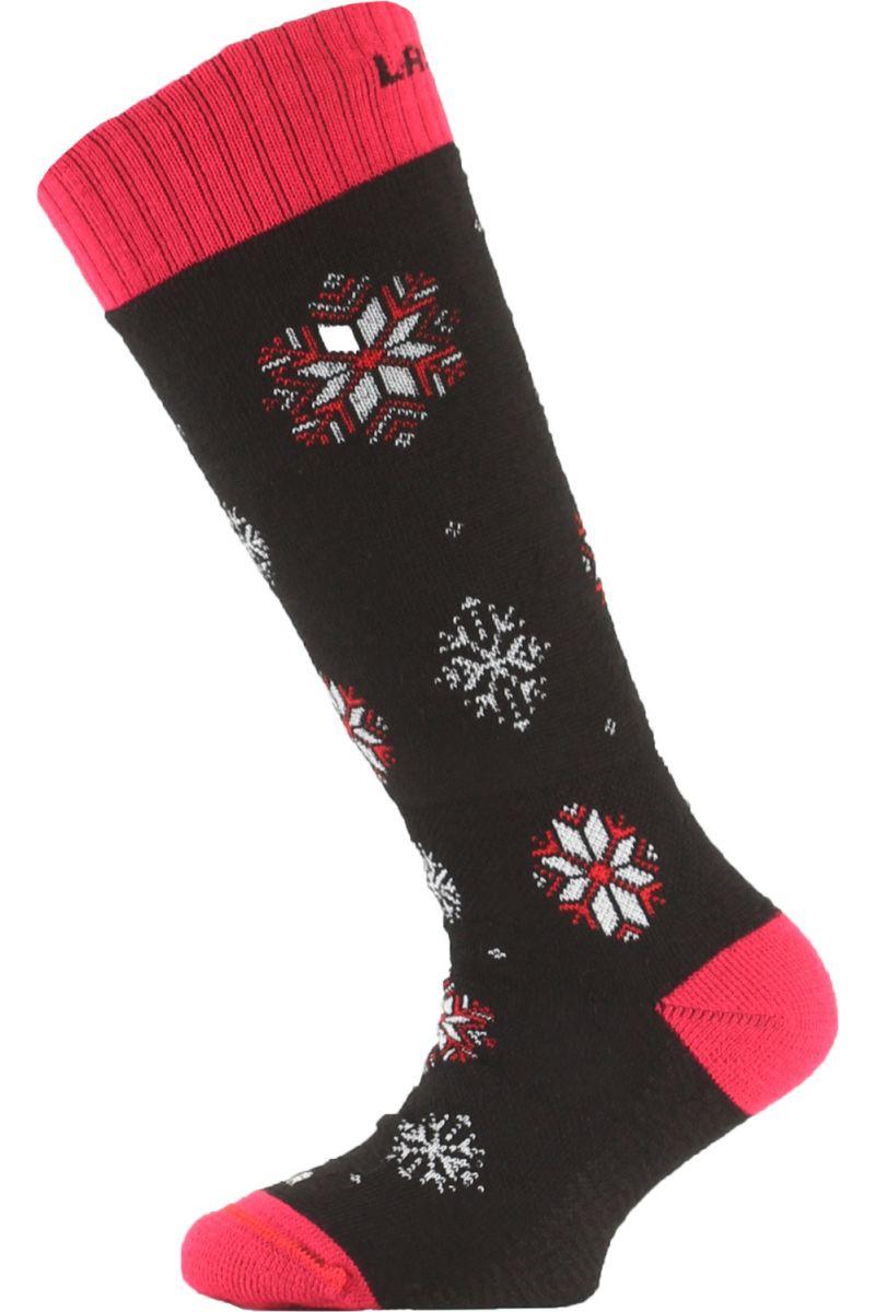 Lasting SJA 903 černá dětské ponožky