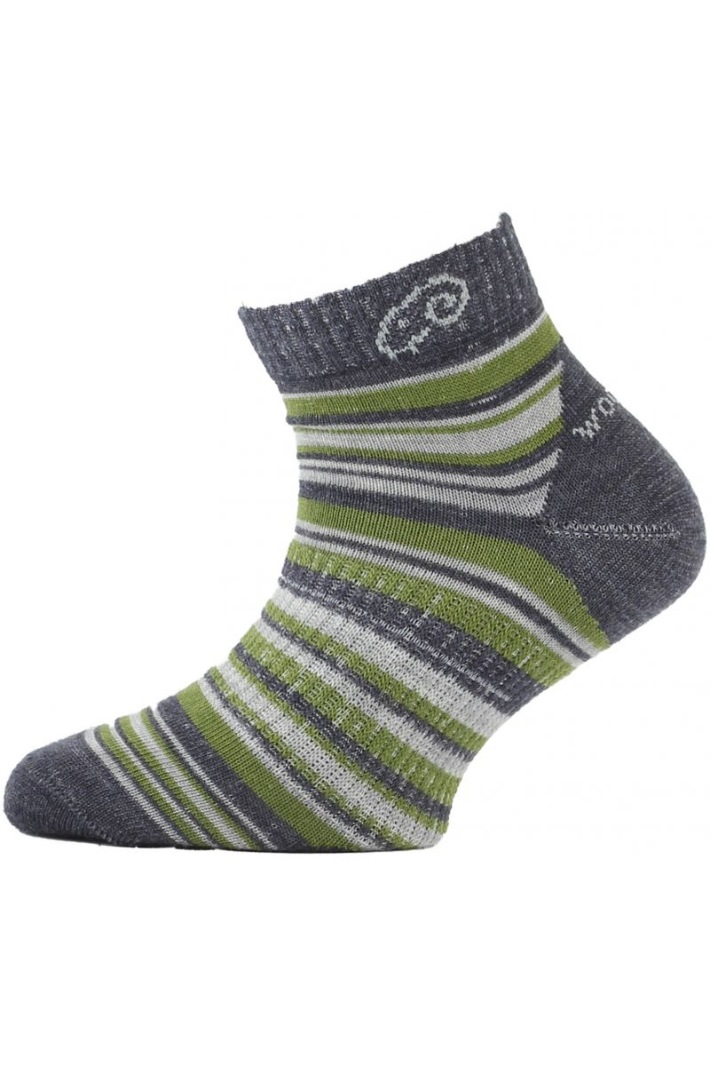 Lasting dětské merino ponožky TJP zelené