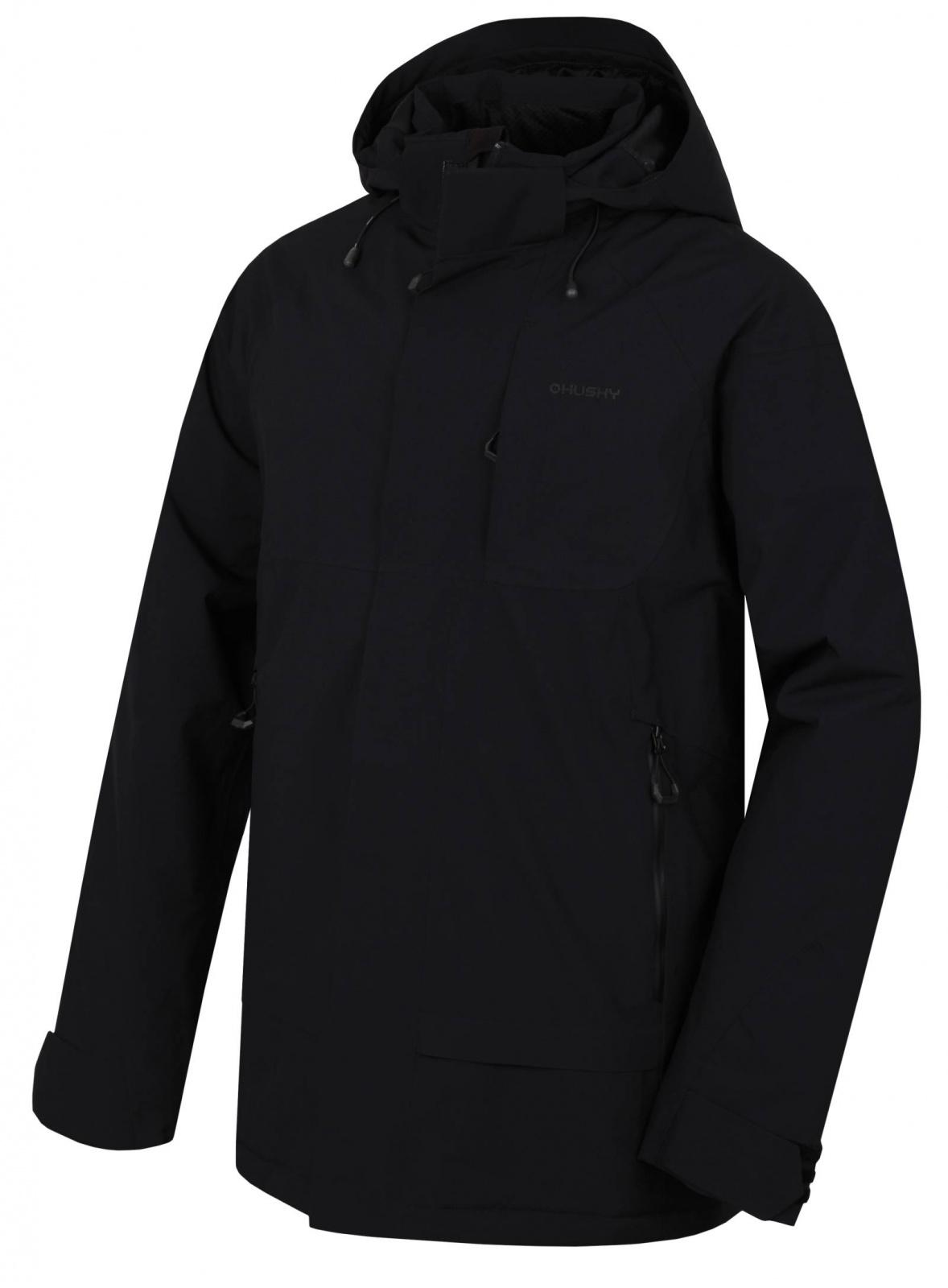 Husky Pánský hardshell plněný kabát   Nigalo M černá