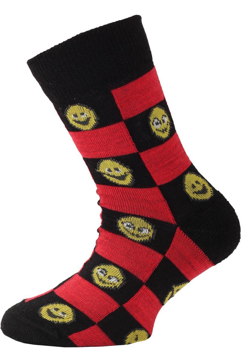 Lasting dětské merino ponožky TJE černé