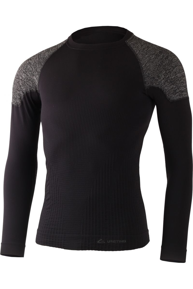 Lasting pánské funkční triko BRUK černé