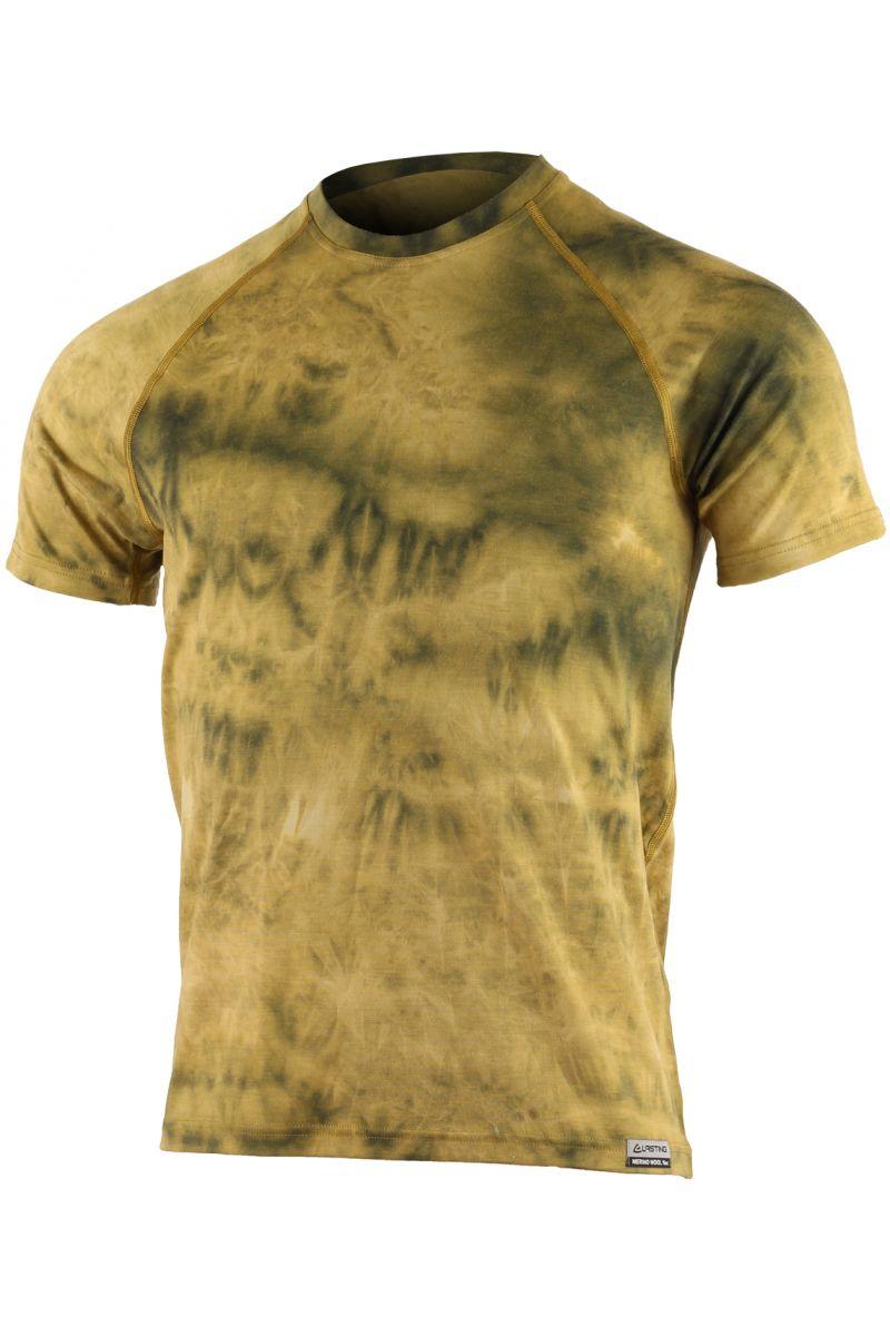 Lasting pánské merino triko BUKAS žluté