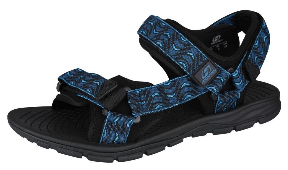 Hannah Feet moroccan blue (wave)