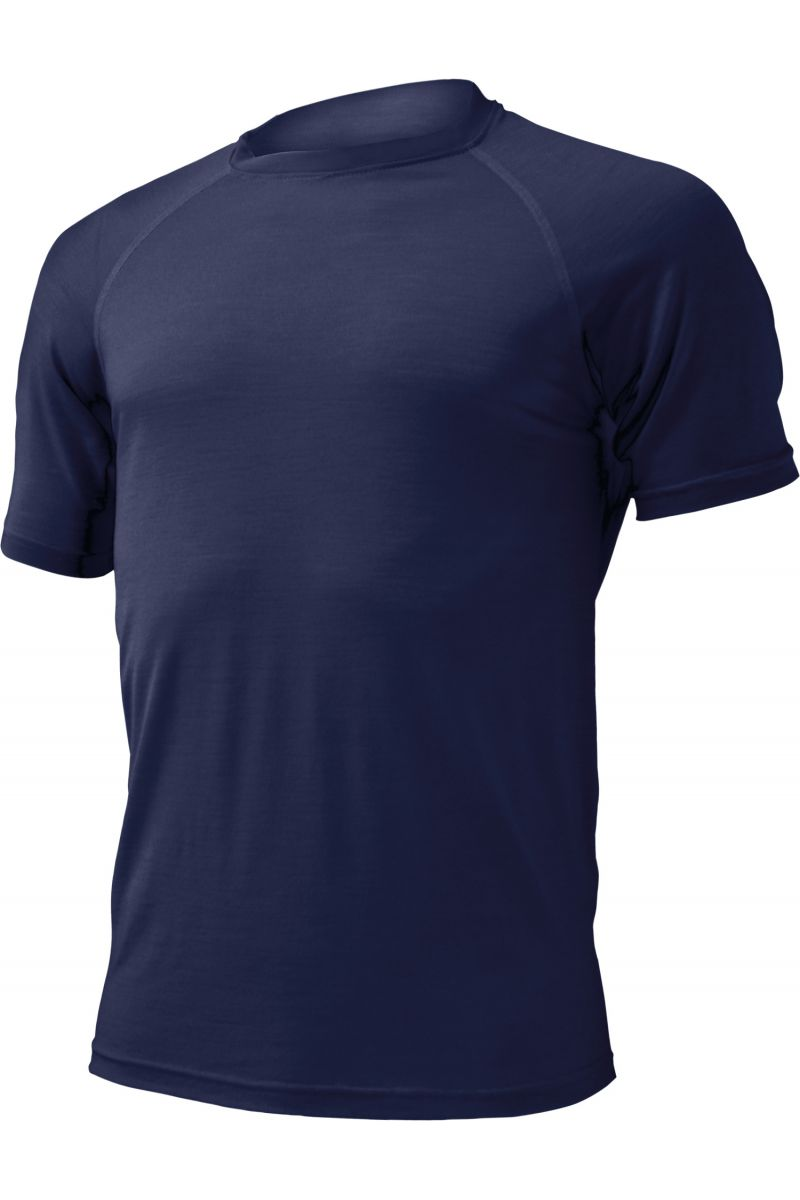 Lasting pánské merino triko QUIDO 5252 modré