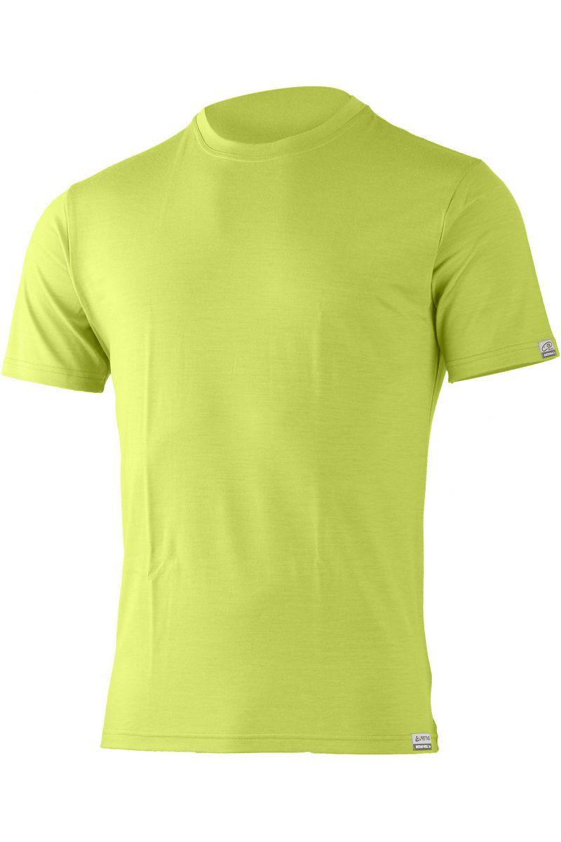 Lasting pánské merino triko CHUAN žlutá