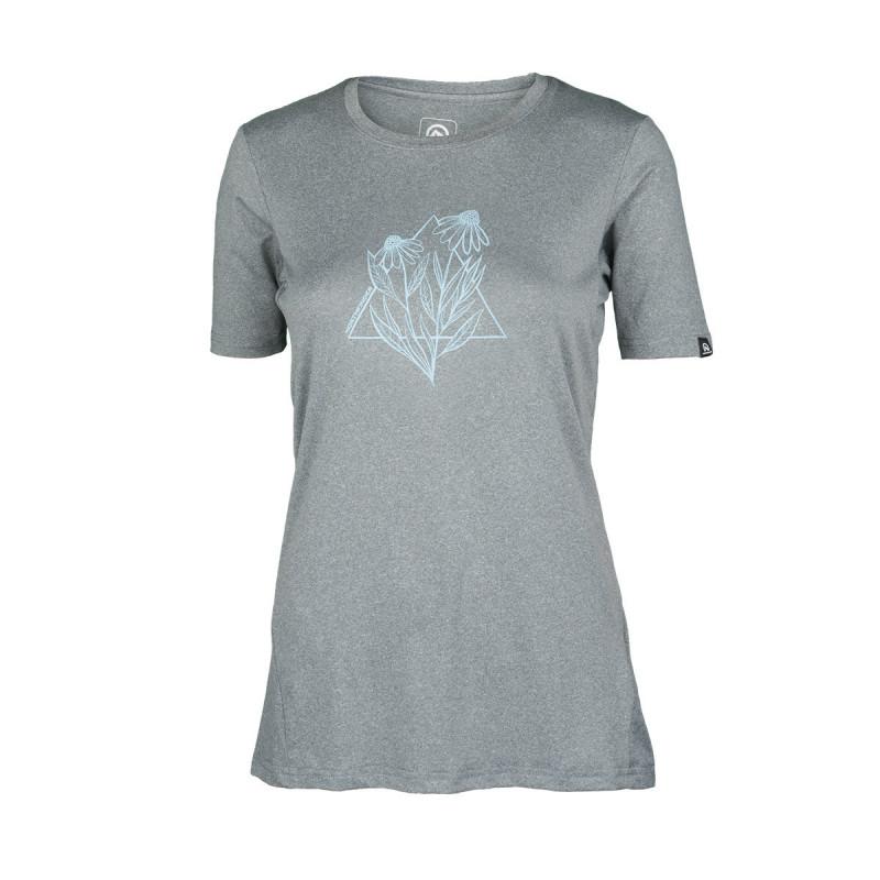 Northfinder dámské sportovní tričko AZARIAH šedá TR-4545OR-319