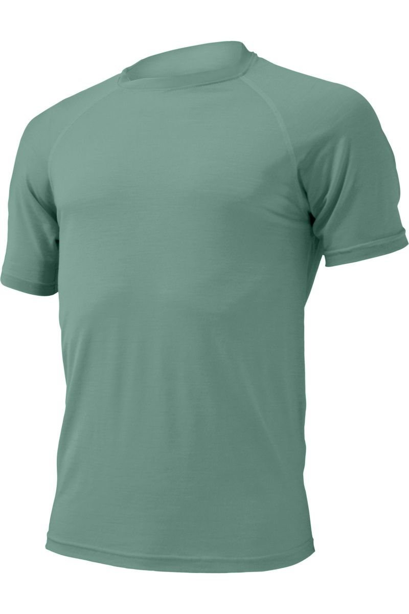 Lasting pánské merino triko QUIDO zelené