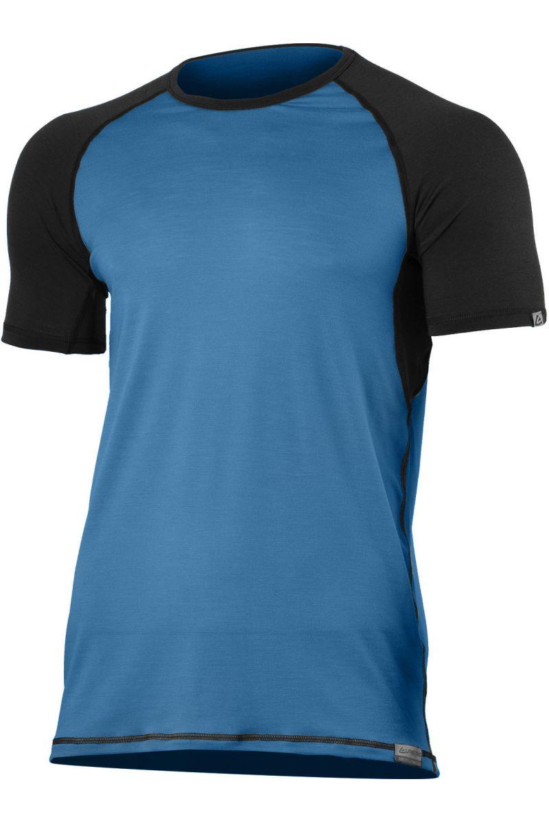 Lasting pánské merino triko OTO modré