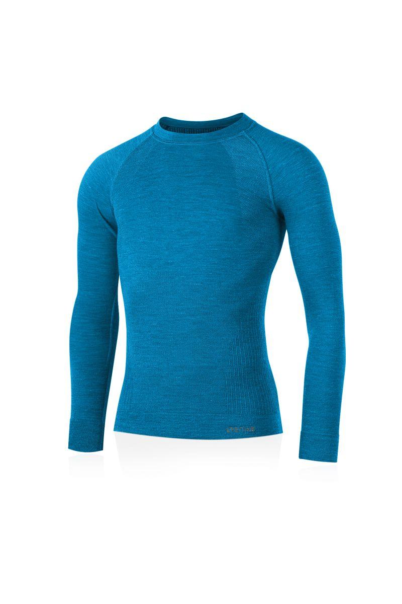 Lasting pánské merino triko MAPOL modré