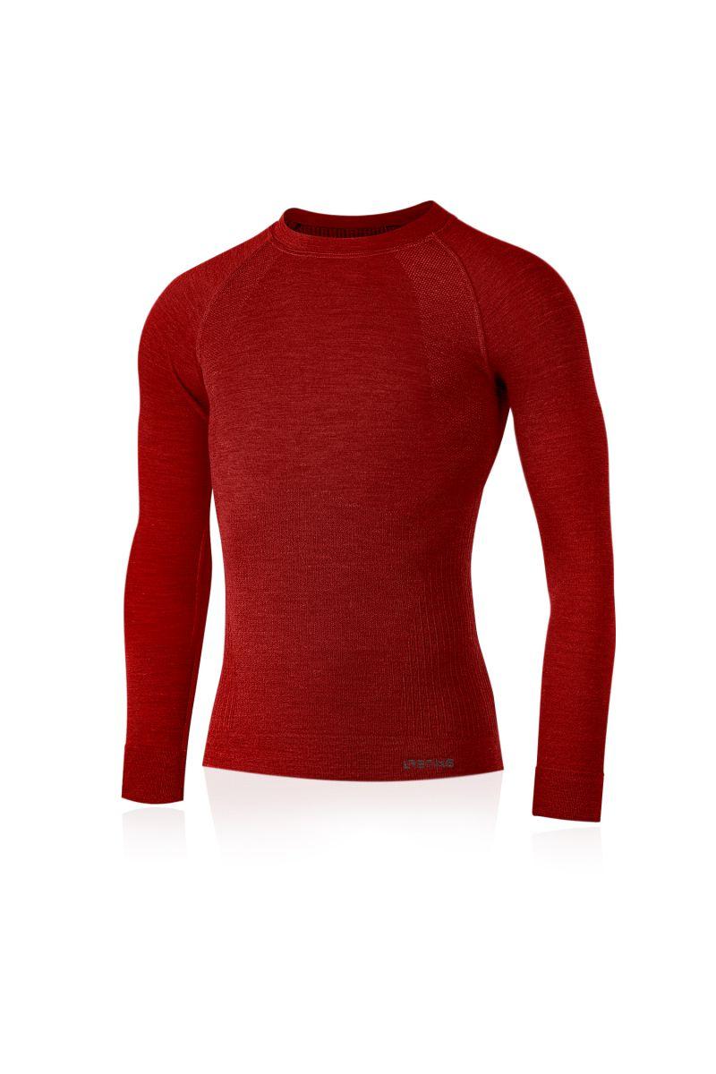 Lasting pánské merino triko MAPOL červené