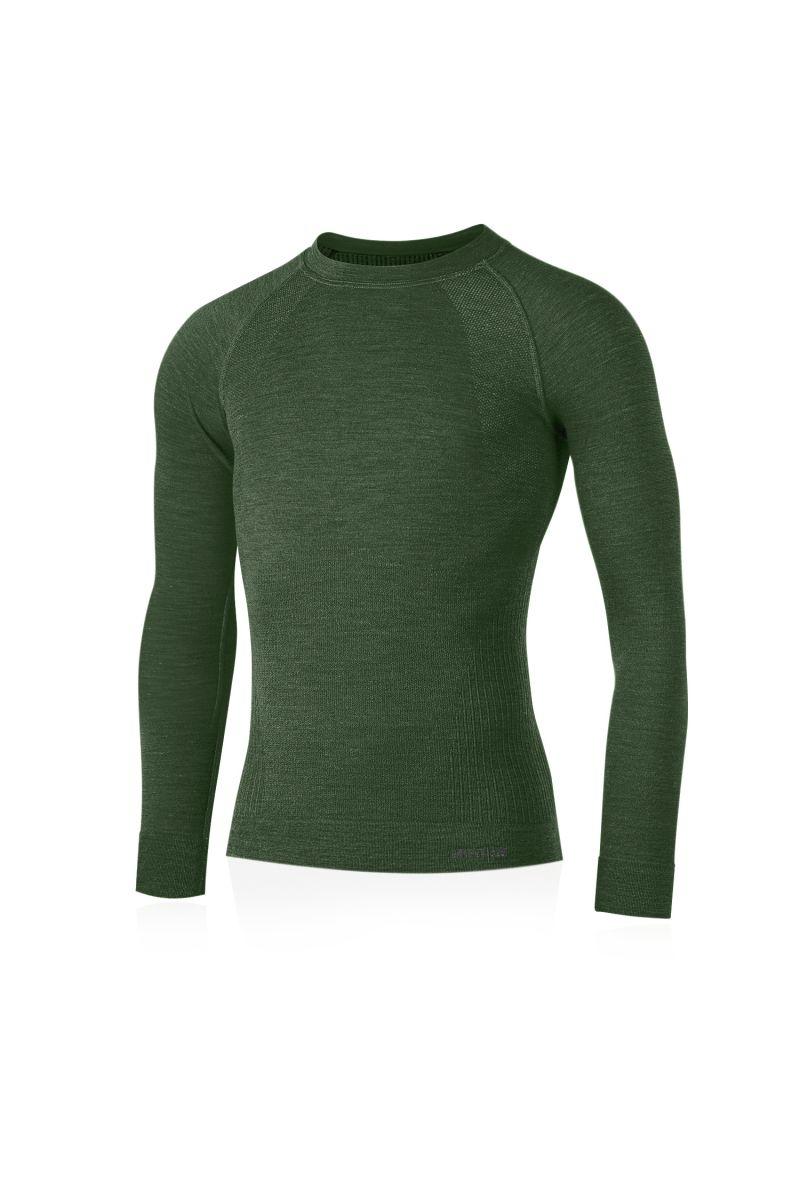 Lasting pánské merino triko MAPOL zelené