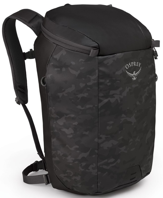 Osprey Transporter Zip camo black