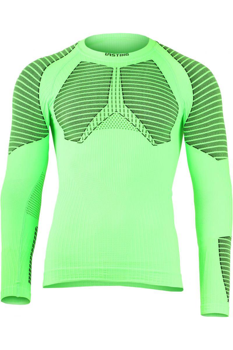Lasting ROLO 6090 zelené termo bezešvé triko