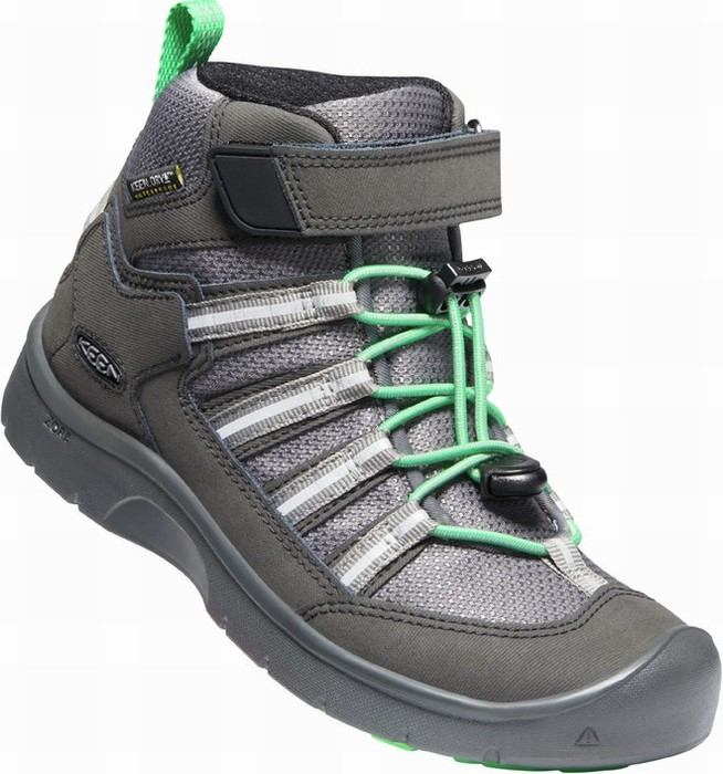 Keen HIKEPORT 2 SPORT MID WP Y black/irish green