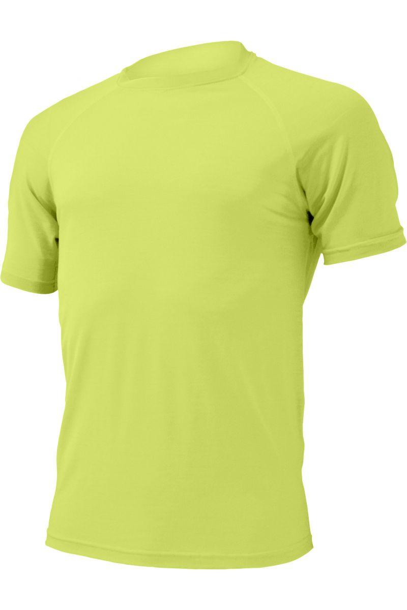 Lasting pánské merino triko QUIDO žluté
