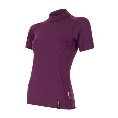 SENSOR DOUBLE FACE dámské triko kr.rukáv fialová