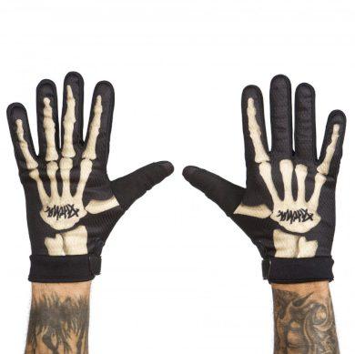 Pitcha bike rukavice Team gloves skeleton Velikost: M