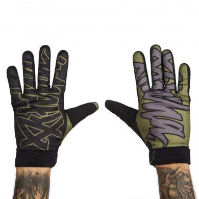 Pitcha bike rukavice Team gloves black/army Velikost: L