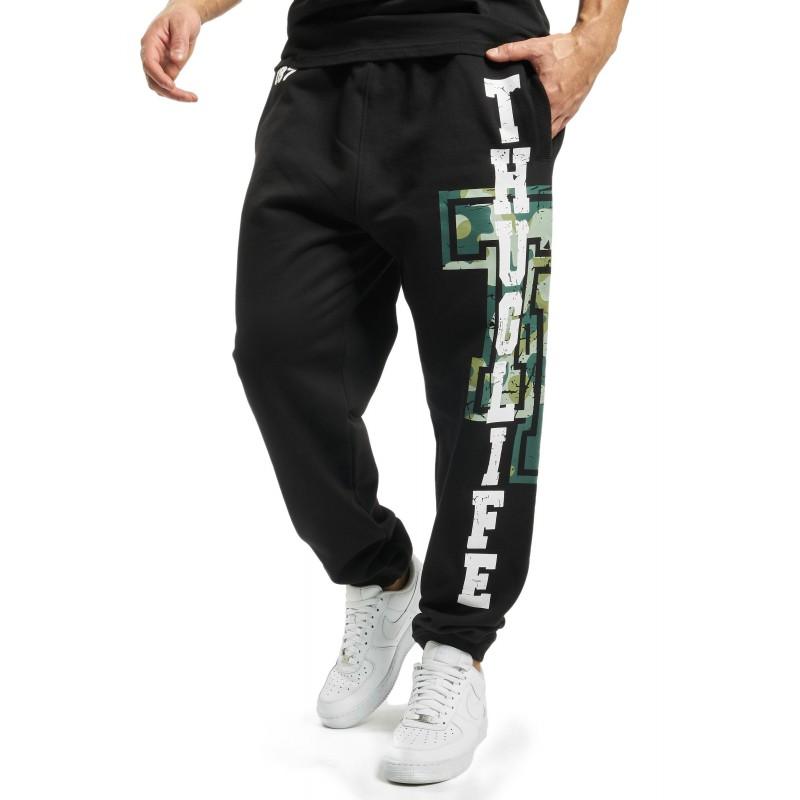 Thug Life / Sweat Pant Under Pressure in black
