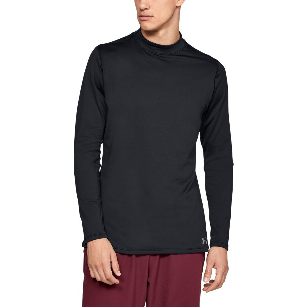 UA CG Armour Mock Fitted BLACK