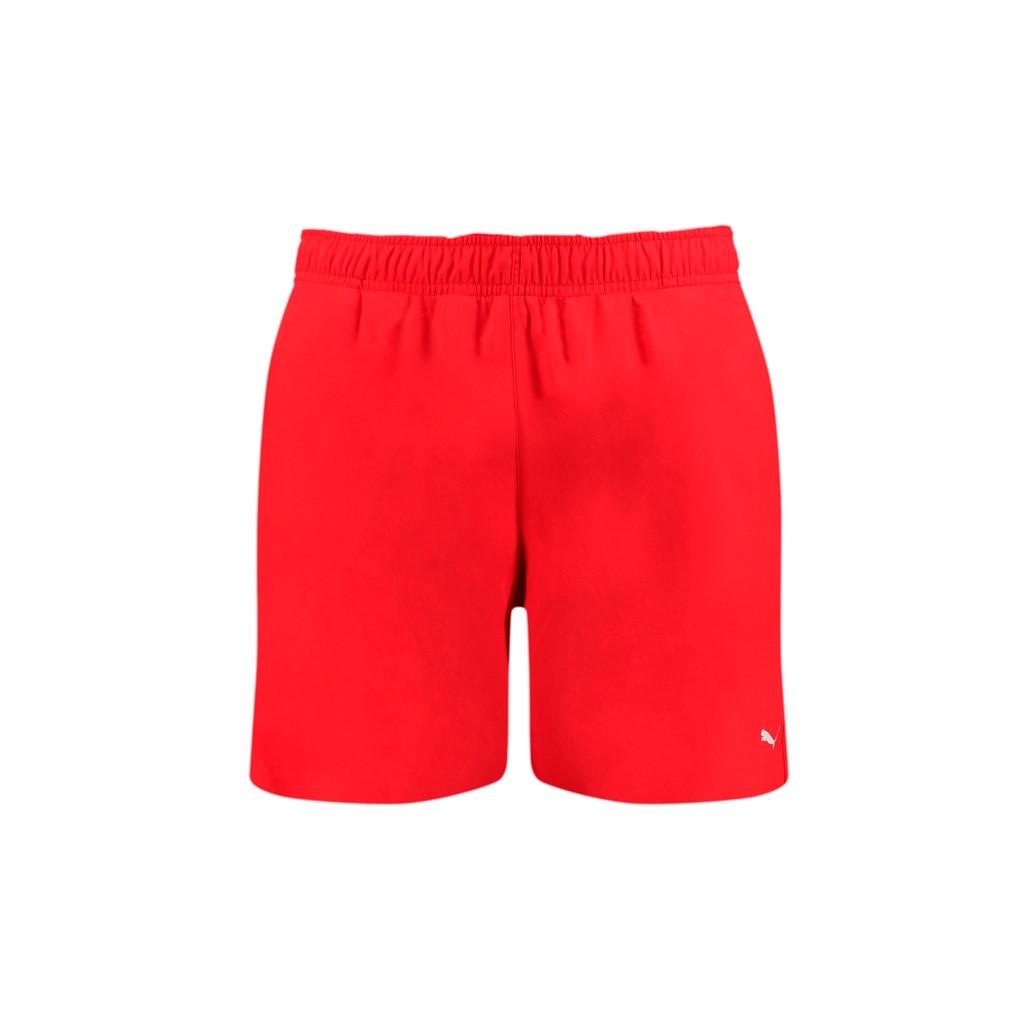 Puma swim men medium shorts 1p red