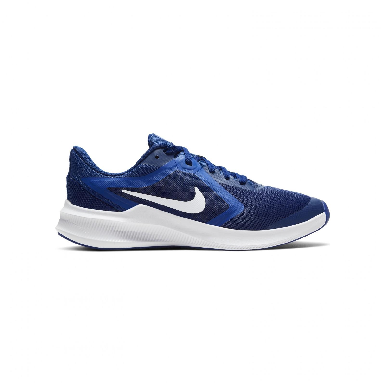 Nike downshifter 10 (gs) DEEP ROYAL BLUE/WHITE-HYPER BLUE
