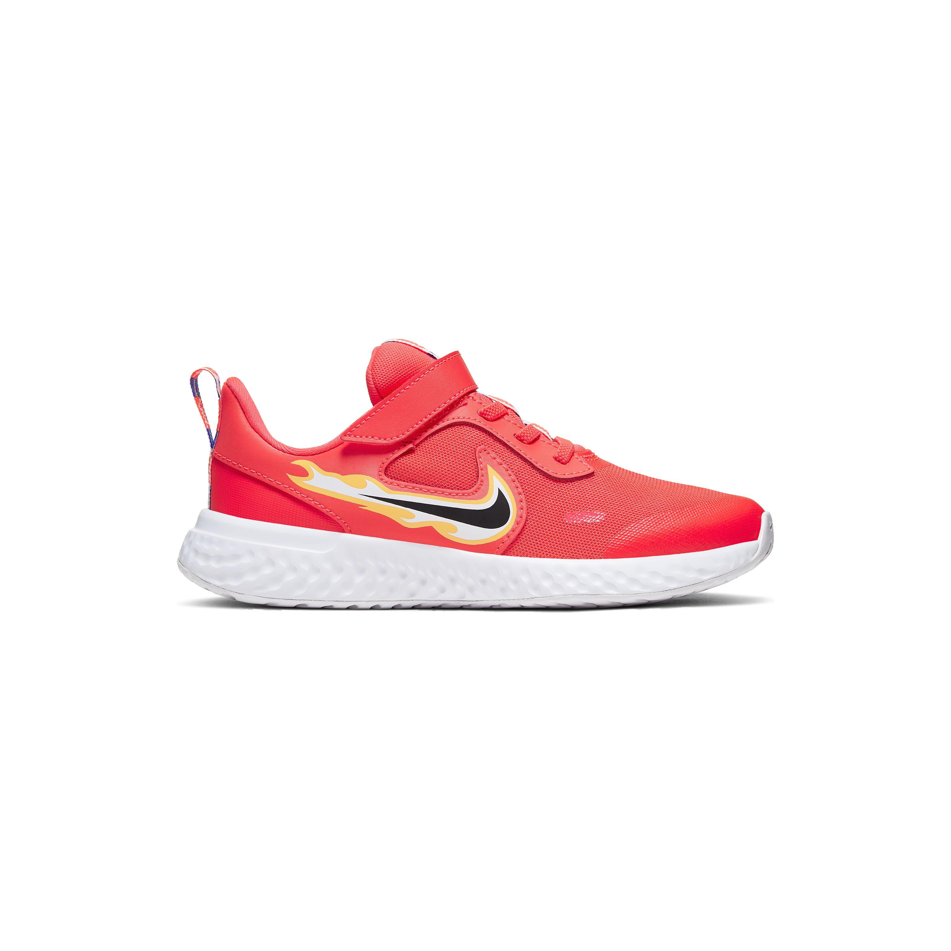 Nike revolution 5 fire (psv) LASER CRIMSON/DK SMOKE GREY-OPTI YELLOW