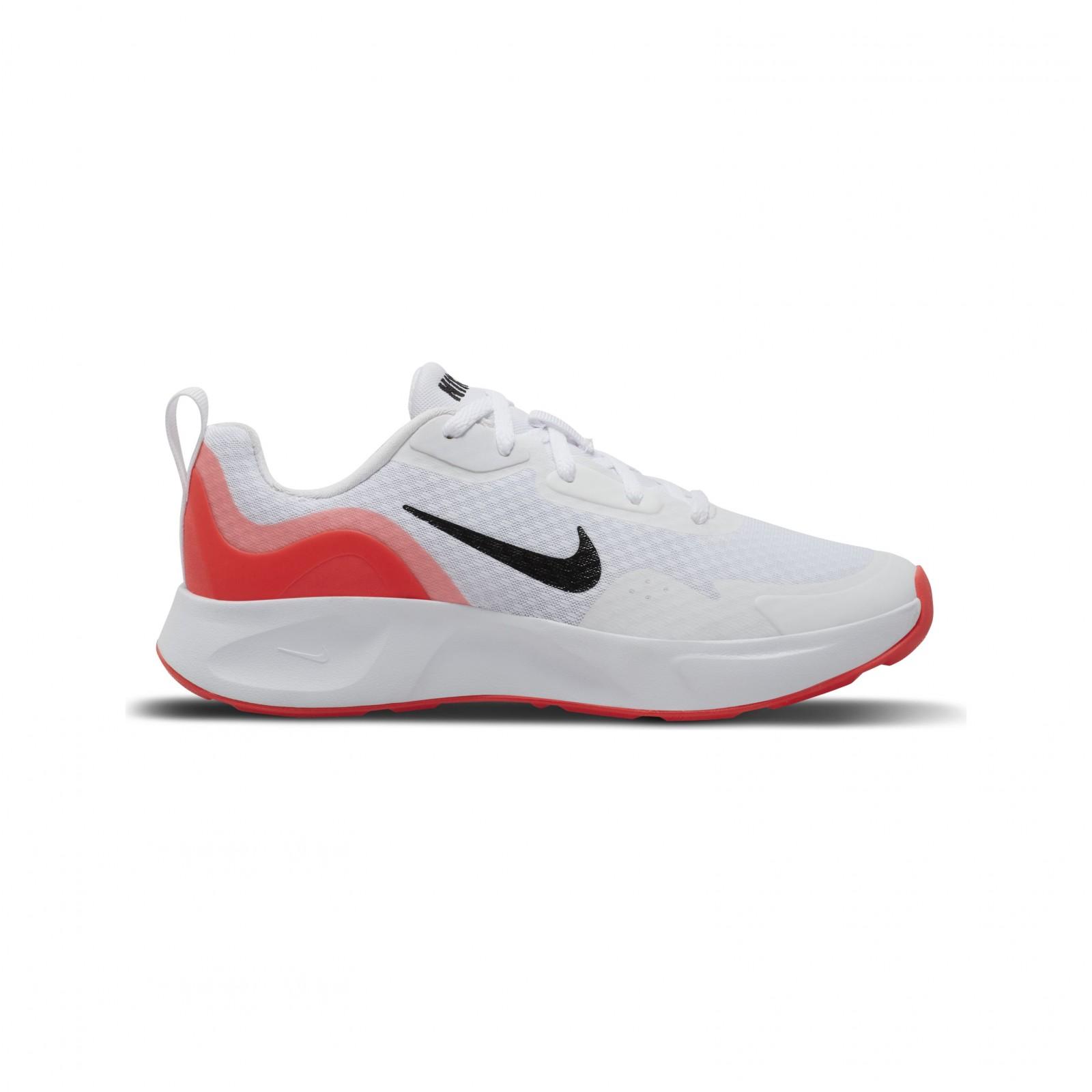 Nike wearallday (gs) WHITE/BLACK-FLASH CRIMSON