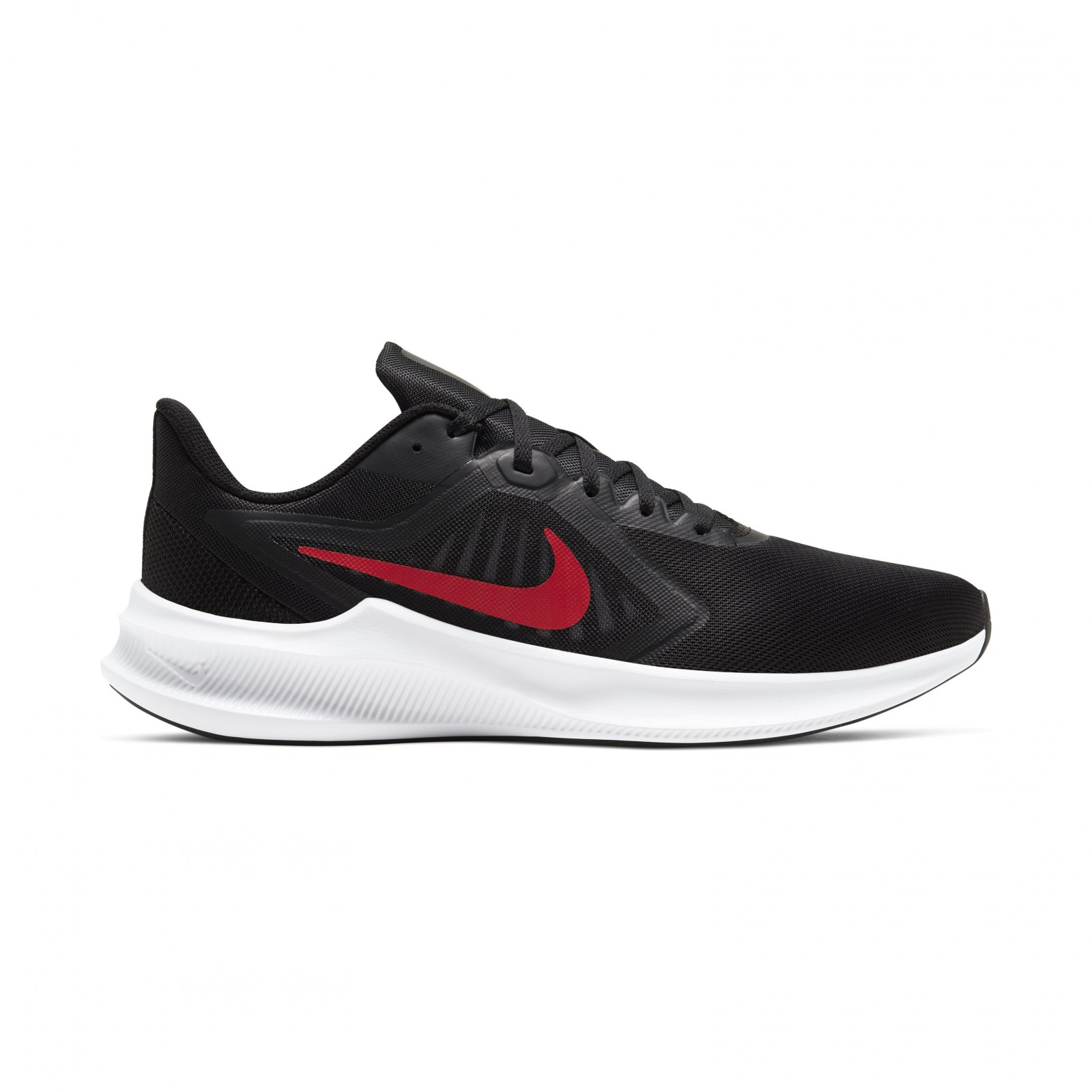 Nike Downshifter 10 BLACK/UNIVERSITY RED-WHITE