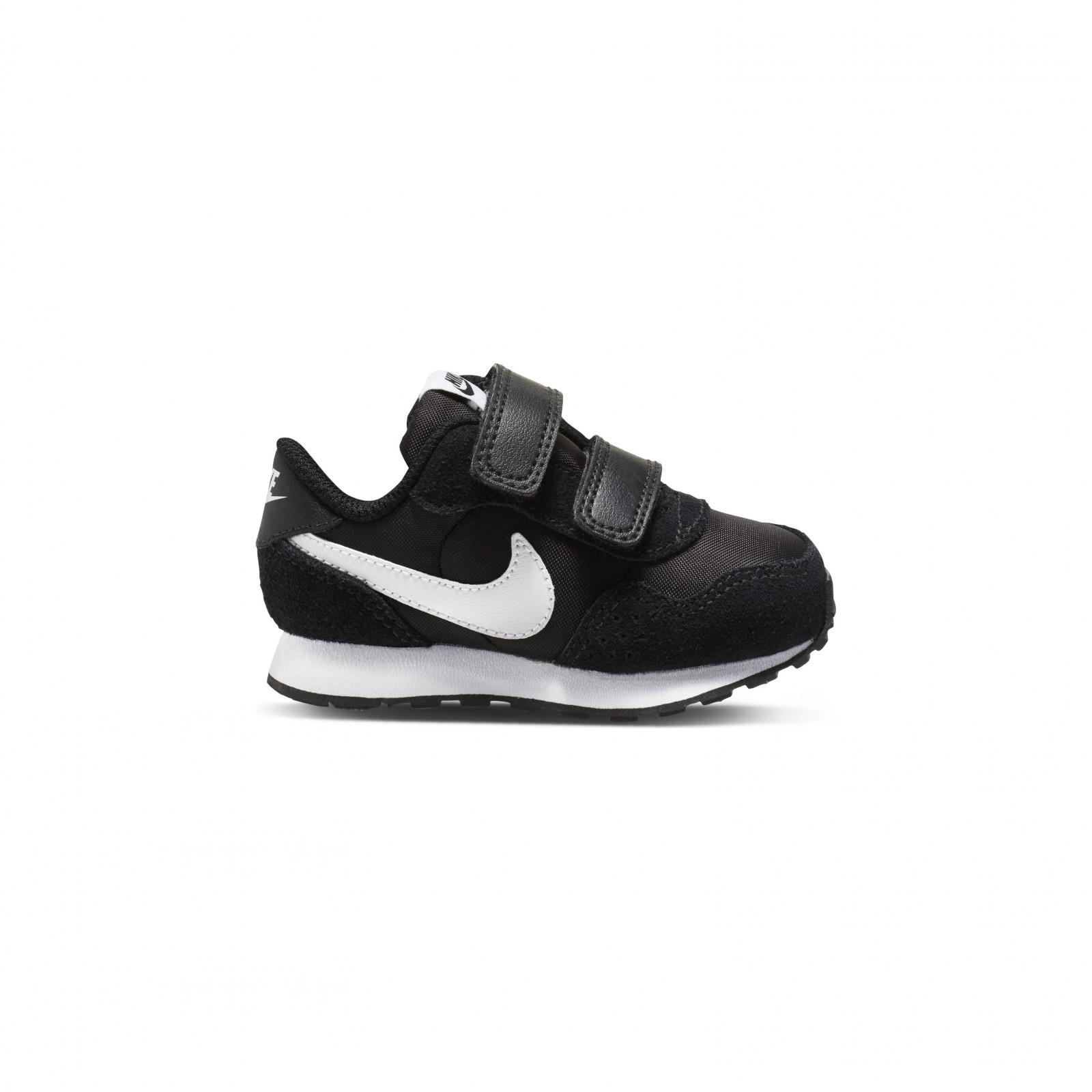 Nike md valiant (tdv) BLACK/WHITE