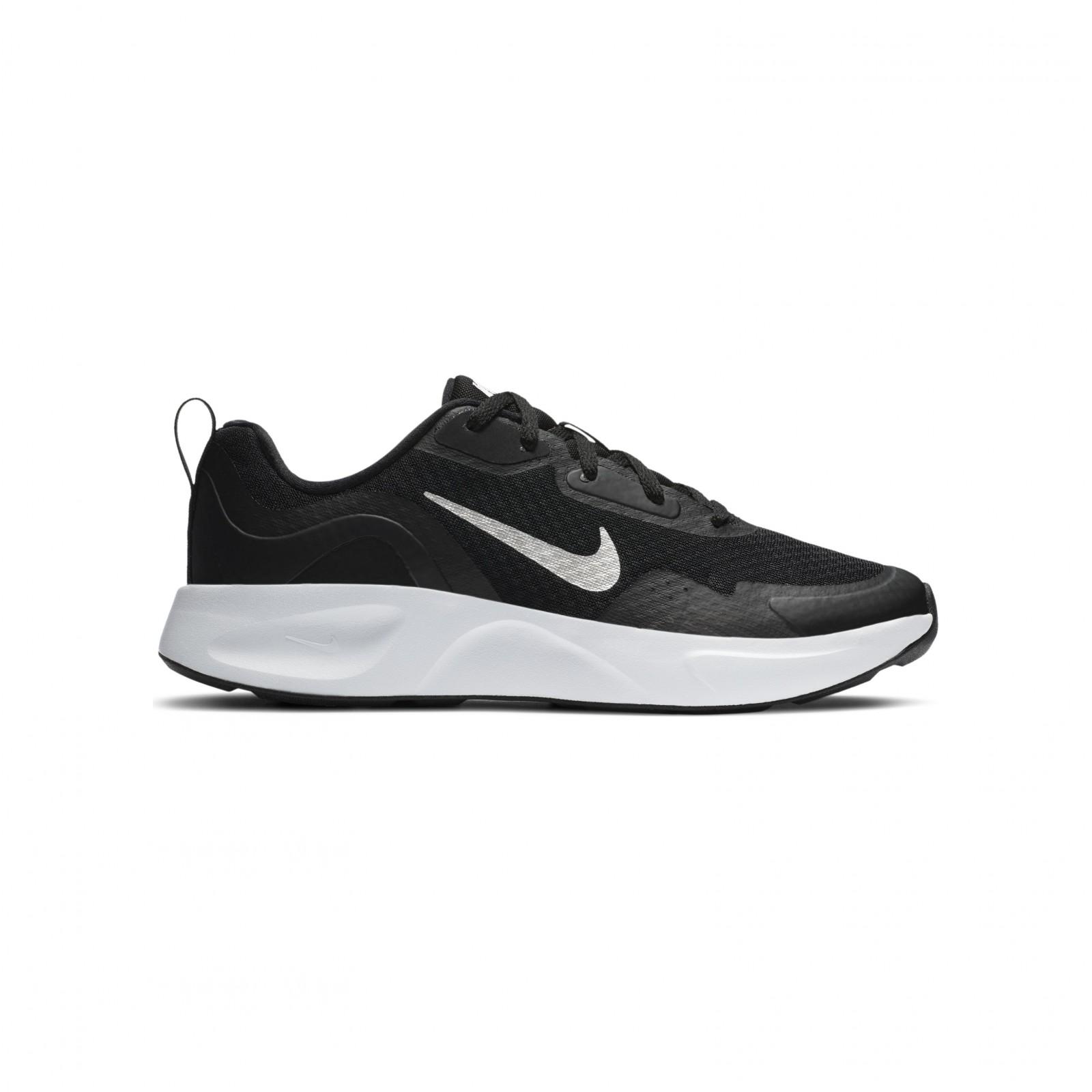 Nike wearallday (gs) BLACK/WHITE