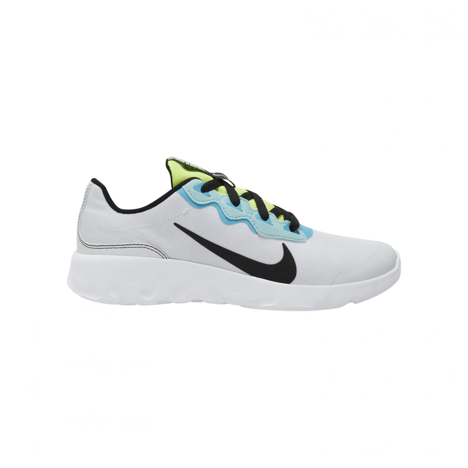 Nike explore strada (gs) WHITE/BLACK-BLUE FURY-GLACIER ICE