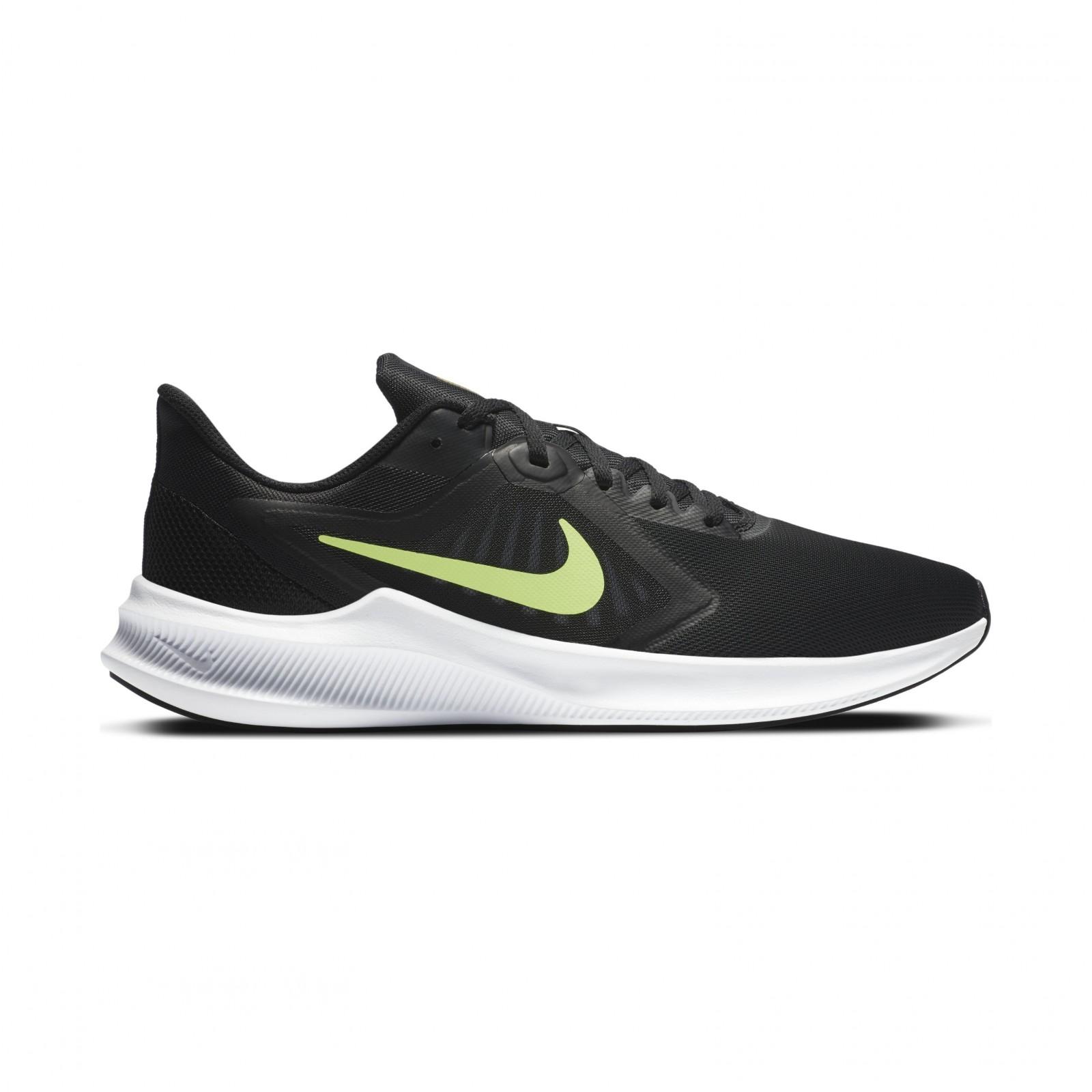 Nike downshifter 10 BLACK/VOLT GLOW-UNIVERSITY GOLD-WHITE