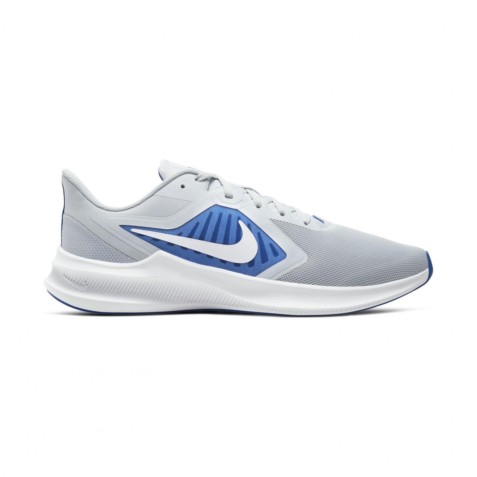 Nike downshifter 10 PURE PLATINUM/WHITE-HYPER ROYAL