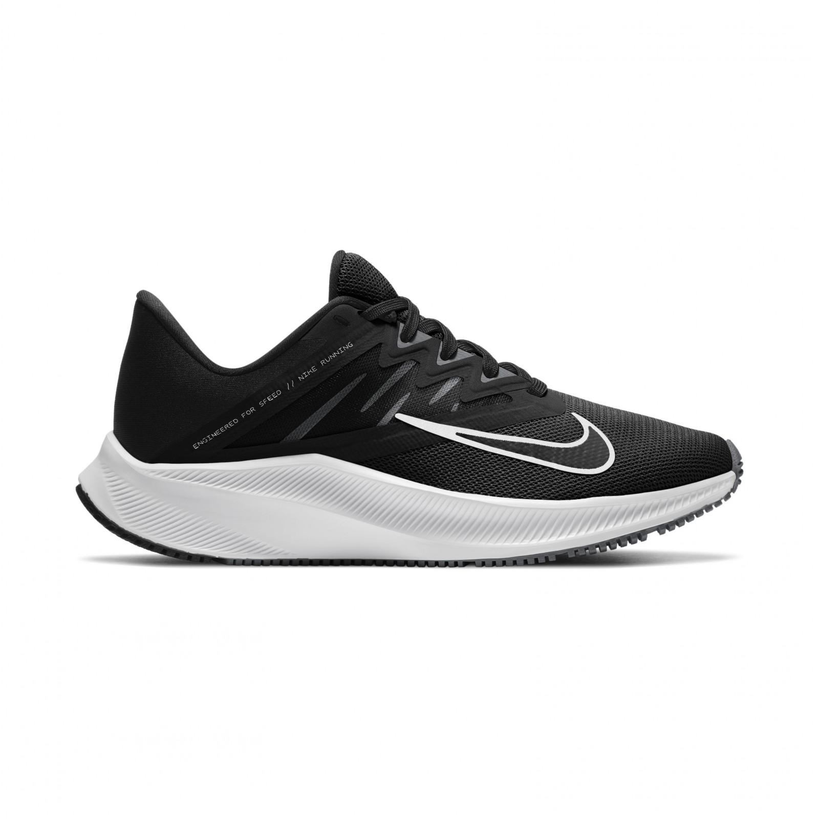 Nike Quest 3 BLACK/WHITE-IRON GREY