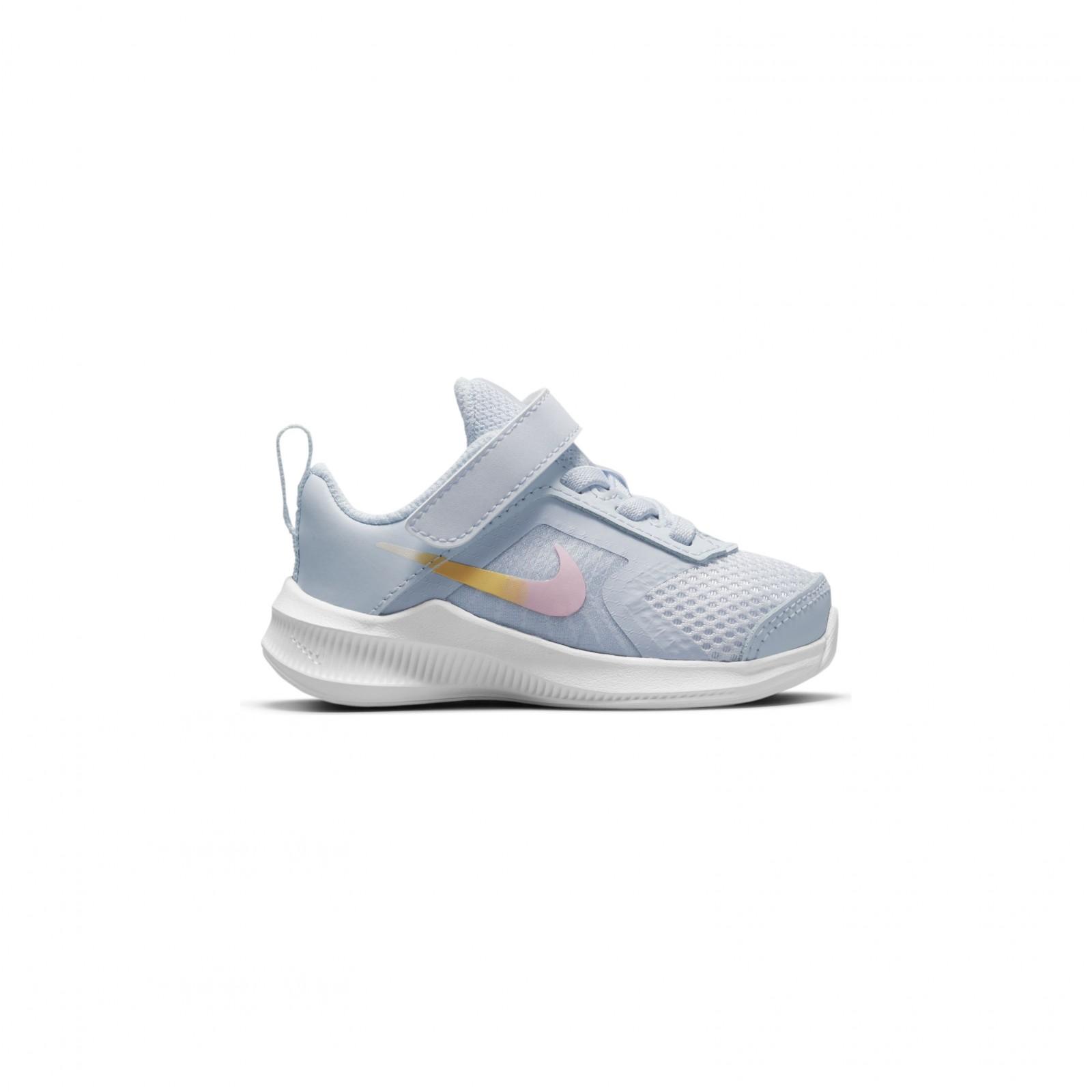 Nike Downshifter 11 SE FOOTBALL GREY/MULTI-COLOR-WHITE
