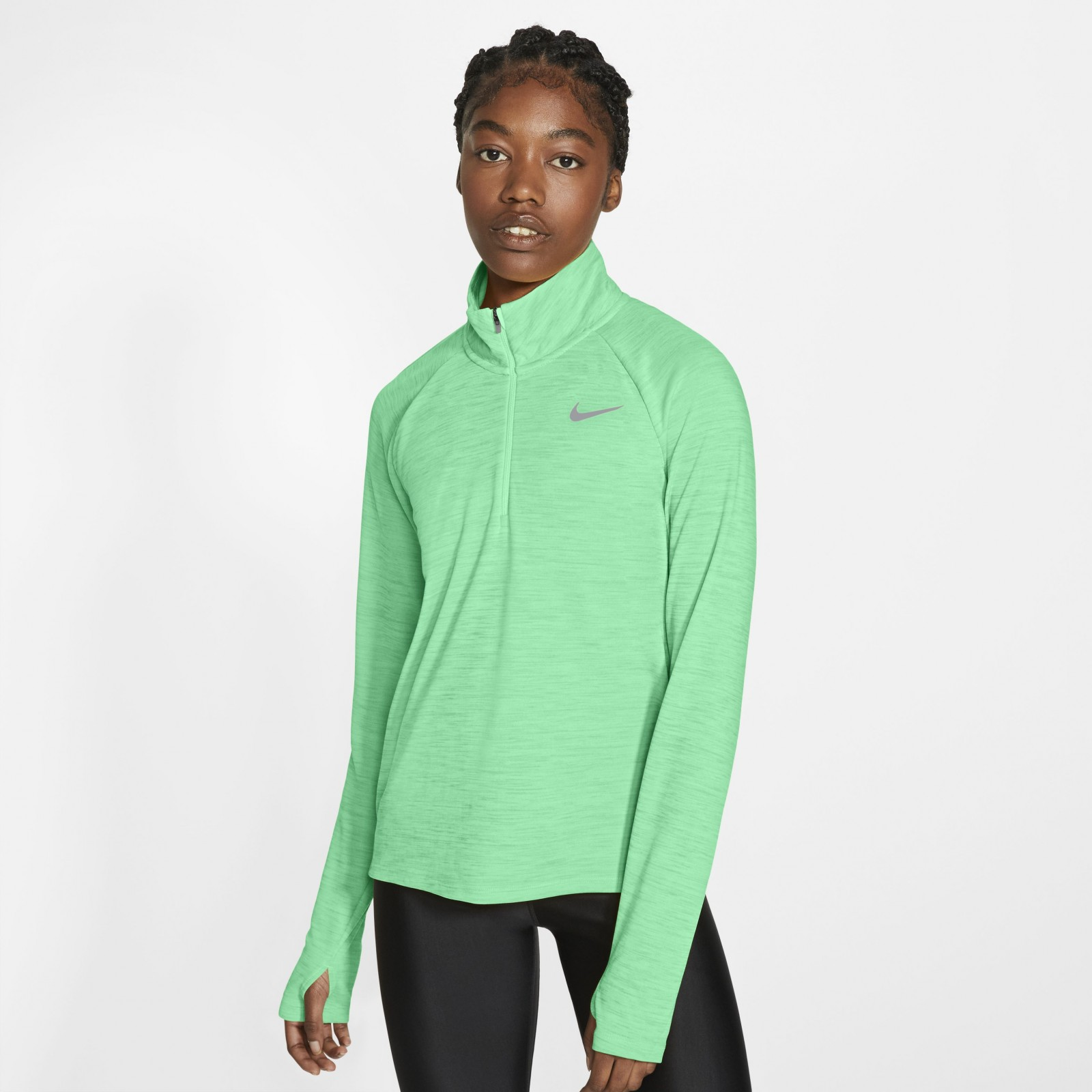 Nike Pacer GREEN GLOW/HTR/REFLECTIVE SILV