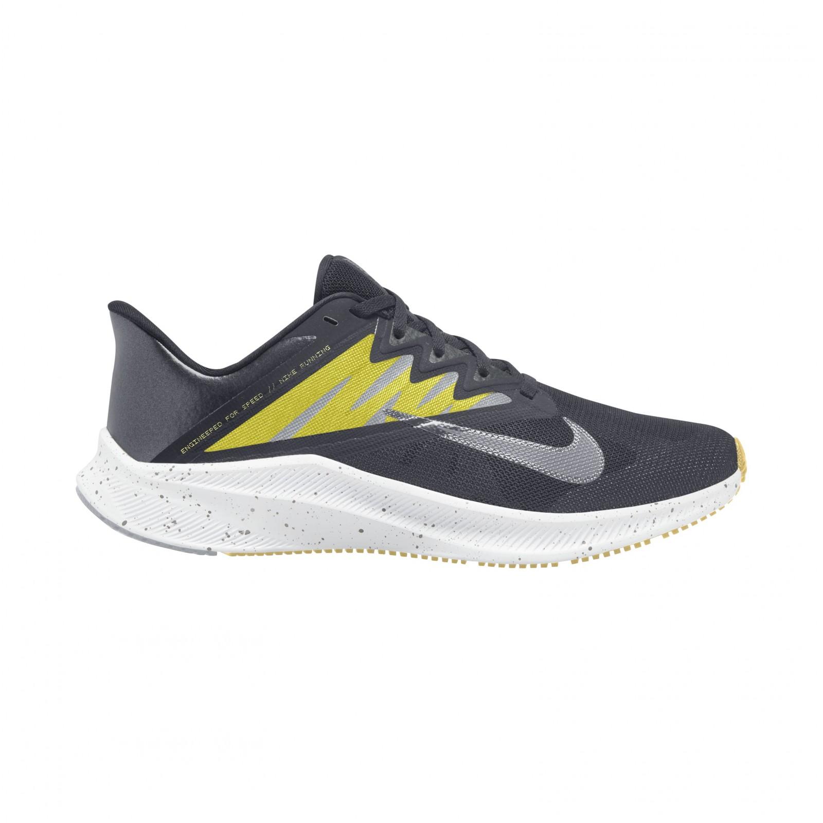 Nike Quest 3 Premium DK SMOKE GREY/WOLF GREY-HIGH VOLTAGE