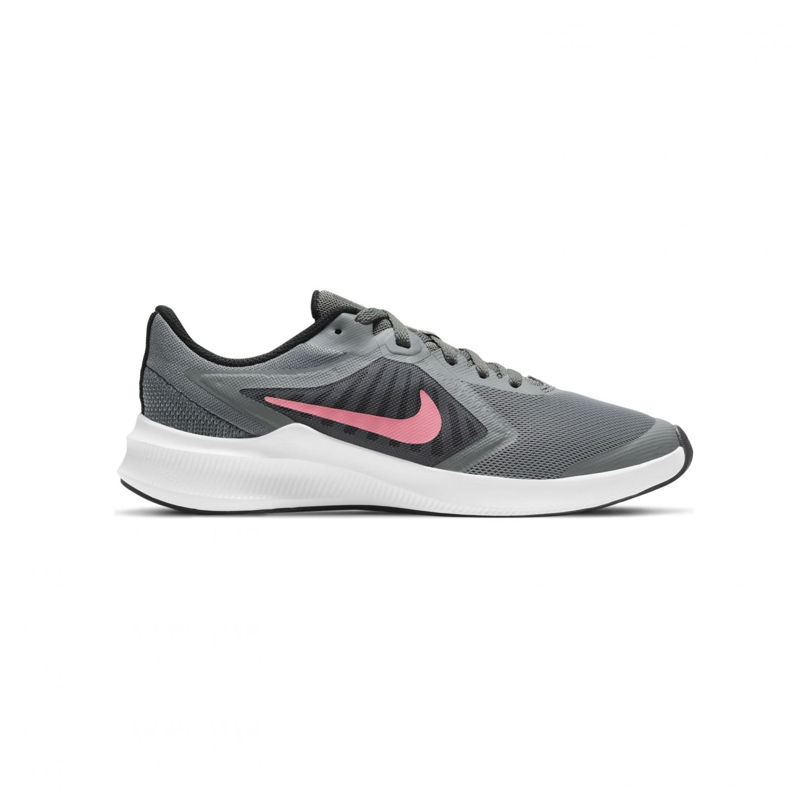 Nike Downshifter 10 SMOKE GREY/SUNSET PULSE-BLACK-WHITE