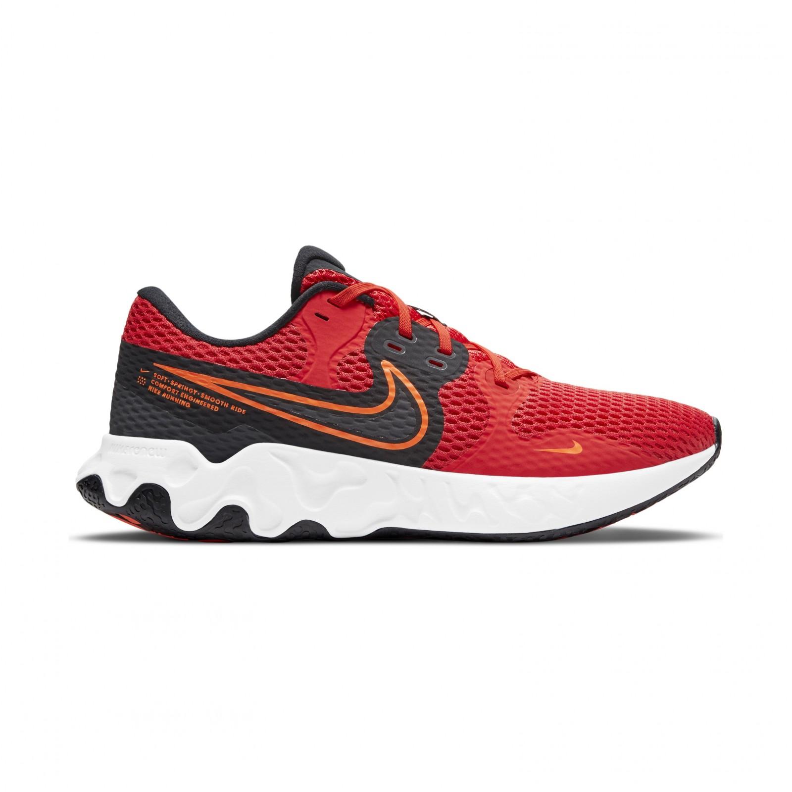 Nike Renew Ride 2 CHILE RED/DK SMOKE GREY-HYPER CRIMSON