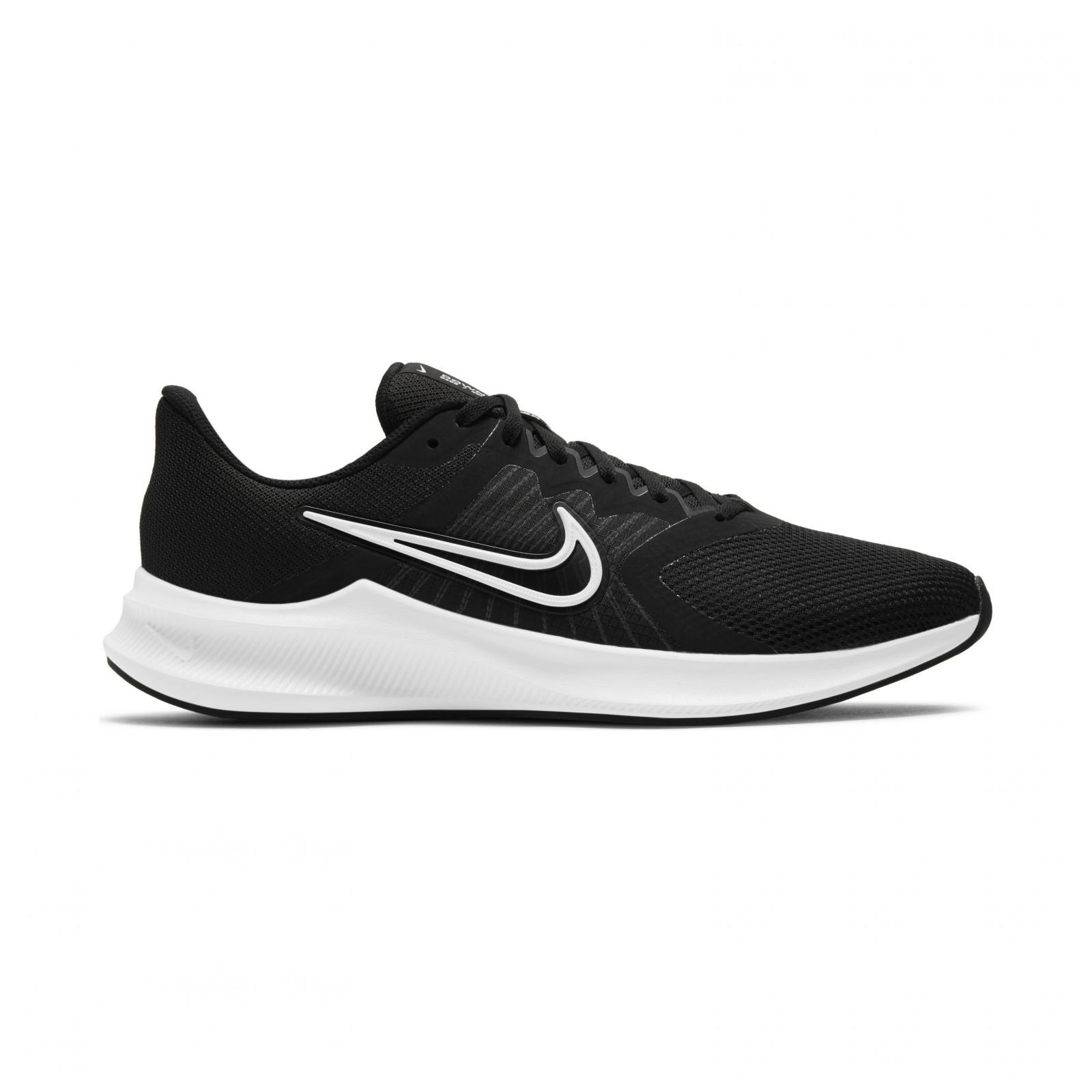 Nike Downshifter 11 BLACK/WHITE-DK SMOKE GREY