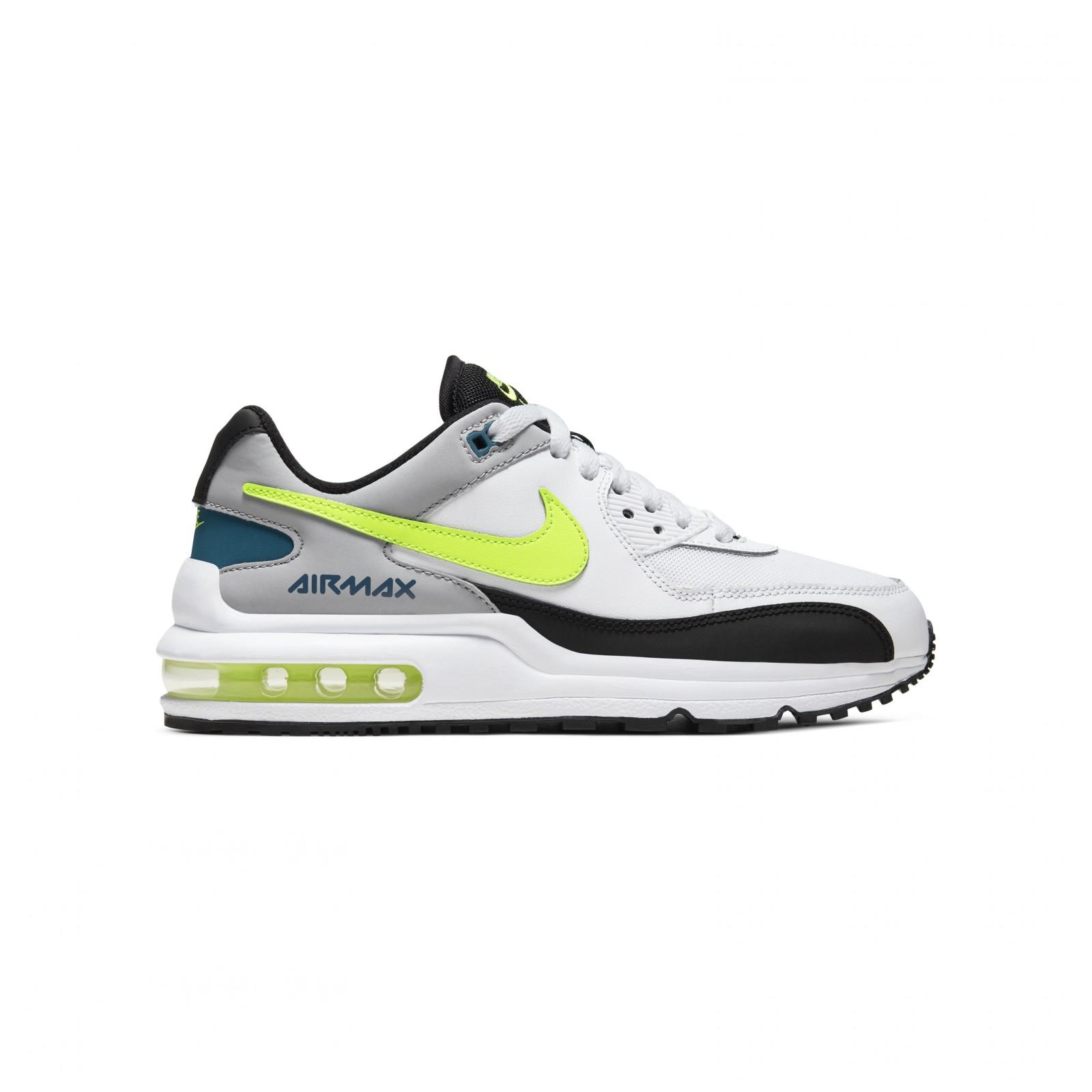 Nike air max wright gs WHITE/VOLT-BLACK-WOLF GREY