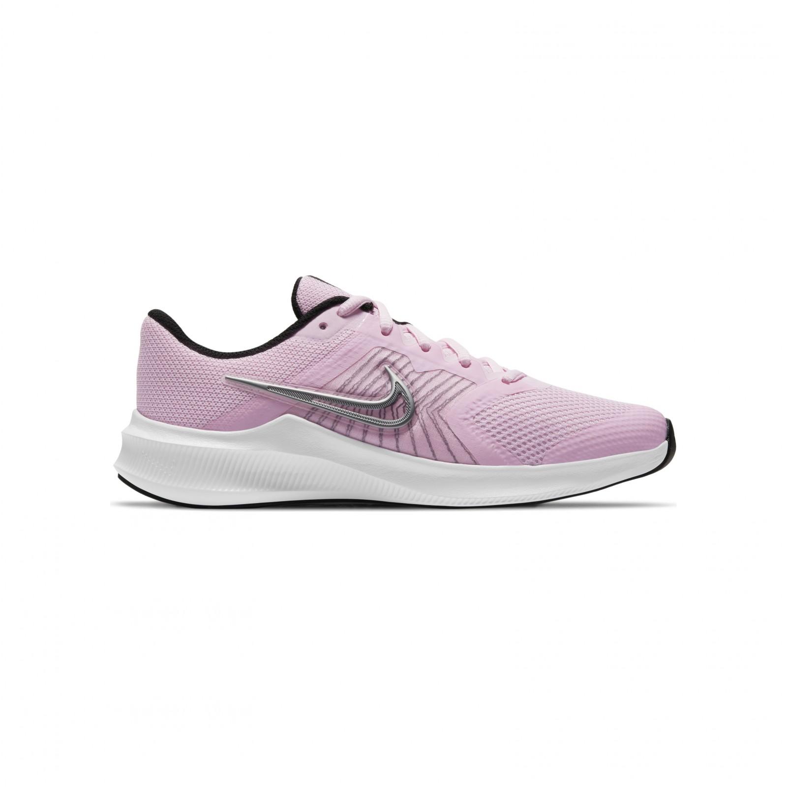 Nike Downshifter 11 PINK FOAM /METALLIC SILVER-BLACK-WHITE