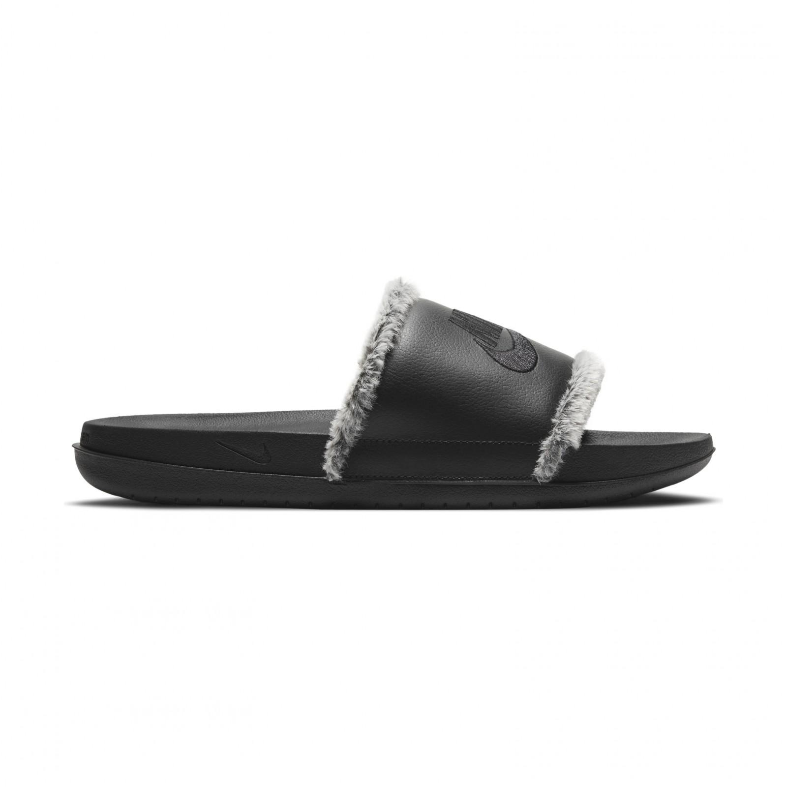 Nike OffCourt Leather BLACK/BLACK-BLACK