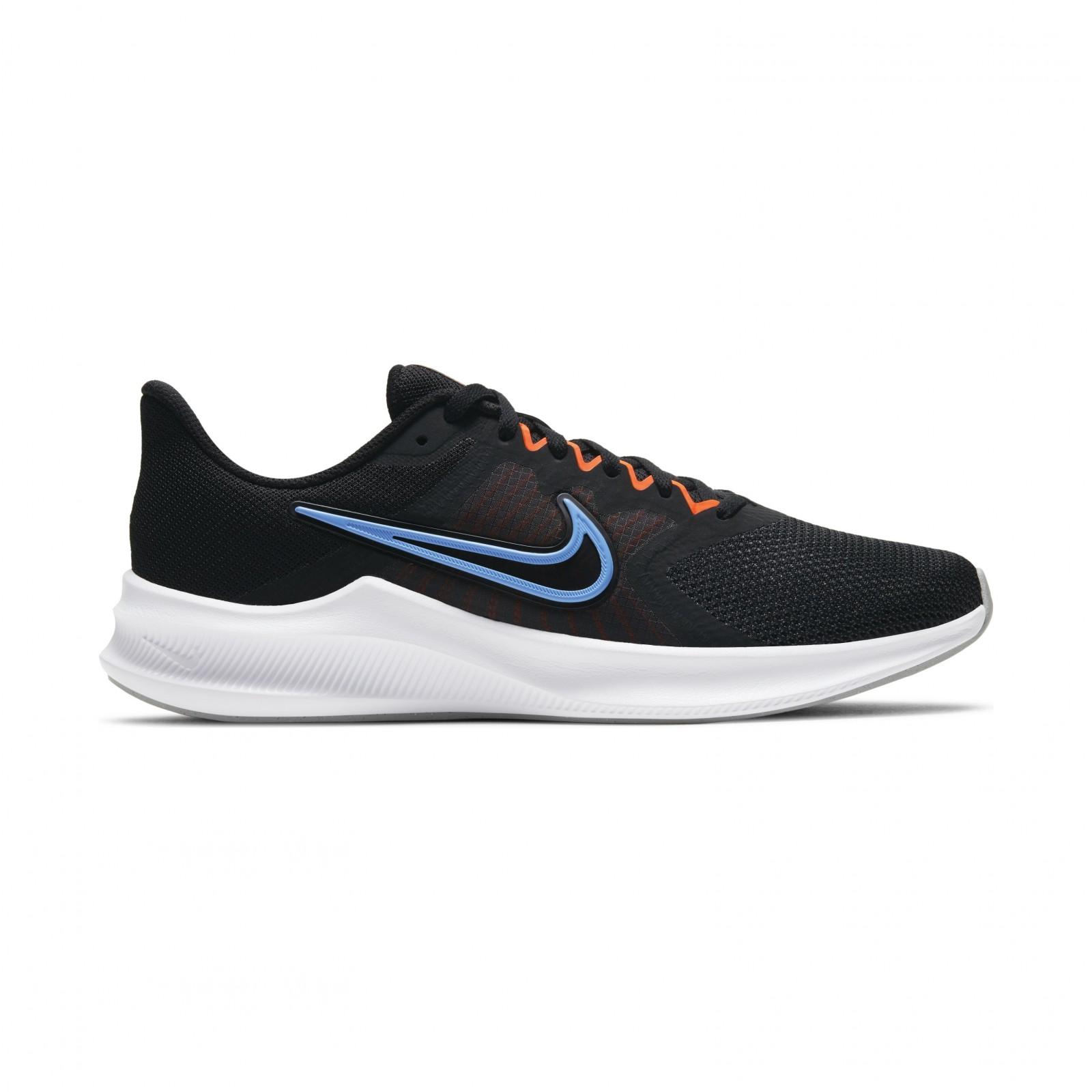 Nike Downshifter 11 BLACK/COAST-TOTAL ORANGE-DK SMOKE GREY