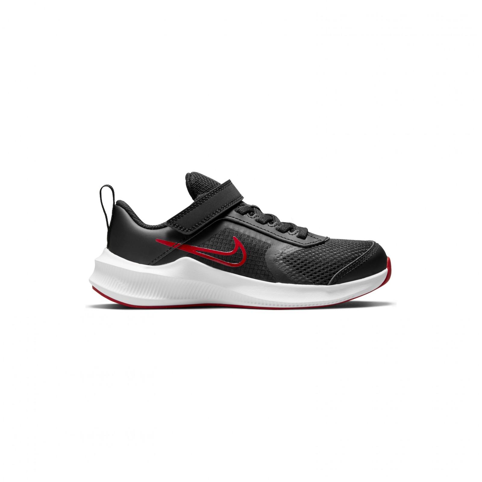 Nike Downshifter 11 BLACK/UNIVERSITY RED-DK SMOKE GREY-WHITE