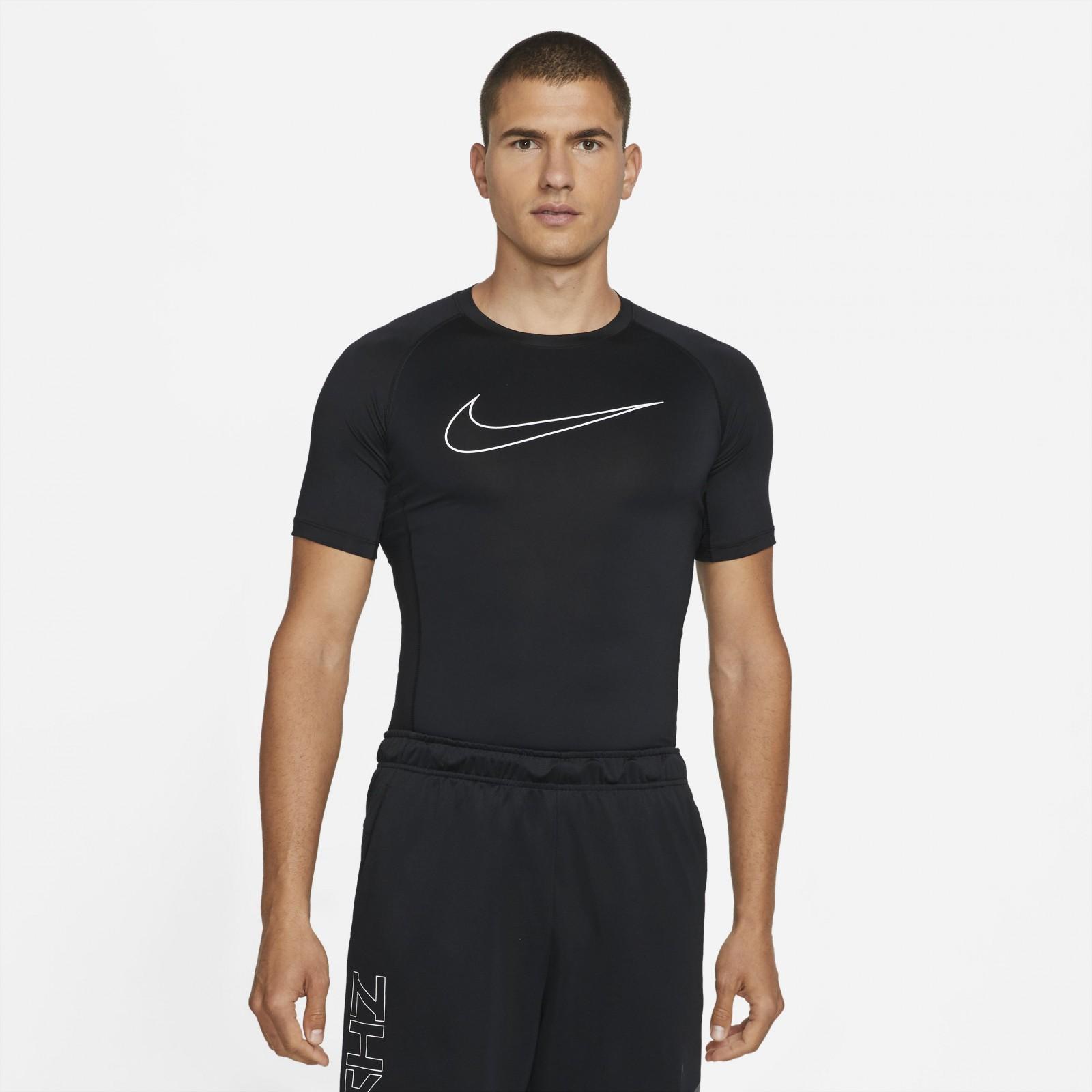 Nike Pro Dri-FIT BLACK/WHITE